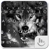 Wild Wolf Keyboard Theme