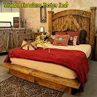 木制家具设计床 icon