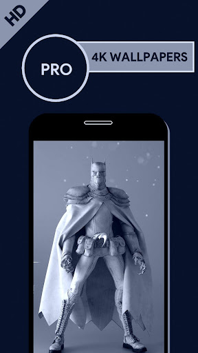 Wallpapers for Batman HD Apps for Android screenshot