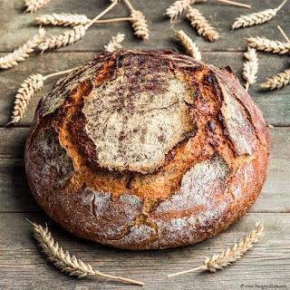 Pumpkin Seeds Sourdough Country Bread