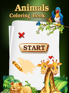 Coloring Books Animal Games