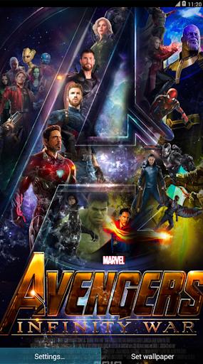 Avengers InFinity WaR Live Wallpaper HD Screenshot 1