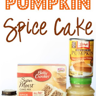 Pumpkin Spice Cake Recipe!