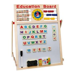 Tabla educativa magnetica interactiva pentru copii 60 x 40 cm