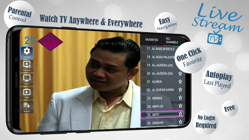 Livestream TV – M3U Stream Player IPTV