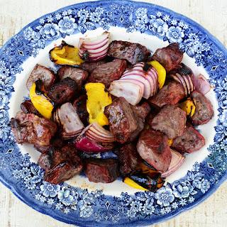 Lamb Shish Kebab; Meet Me At The Grill.