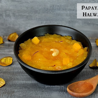 Papaya Halwa