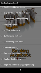 Quit Smoking Audiobook - náhled