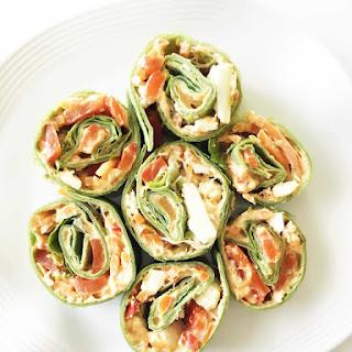Veggie & Hummus Pinwheels
