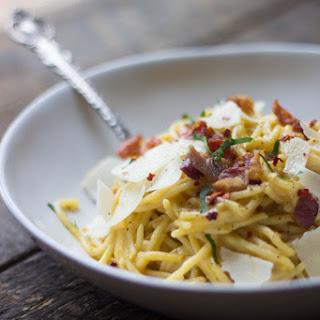 Butternut Squash Spaghetti Carbonara Recipe