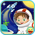 Space for kids - Astrokids Universe icon