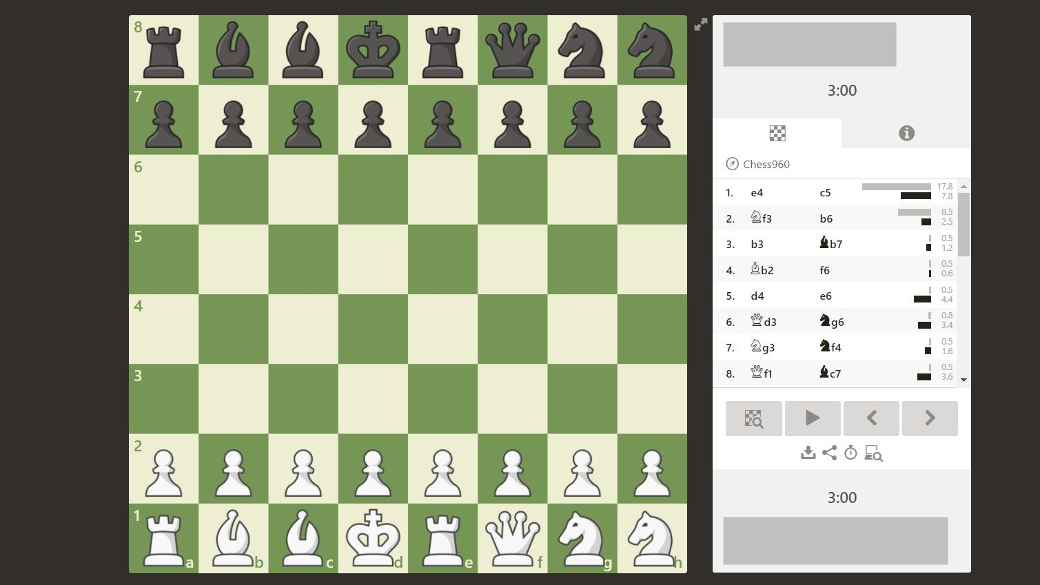 Chess960 Chess Variant