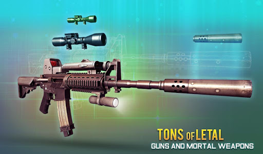 Mountain Sniper 3d Combat Shooting Criminal Attack 1.4 screenshots 9