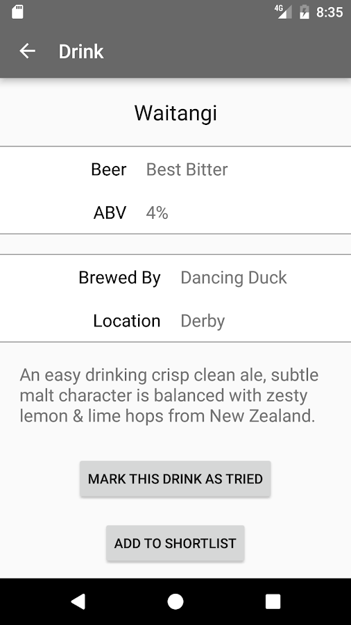 Bristol Beer Festival- screenshot
