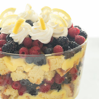 Lemon Berry Trifle Recipe