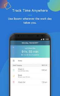 Boomr - Employee Time Clock - náhled