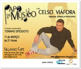 11 de Março - CELSO VIÁFORA - Flyer Ampliado