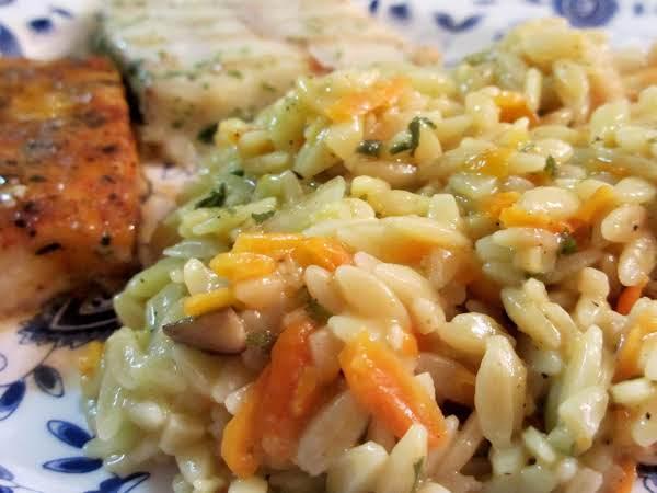 Vegetable Orzo Recipe