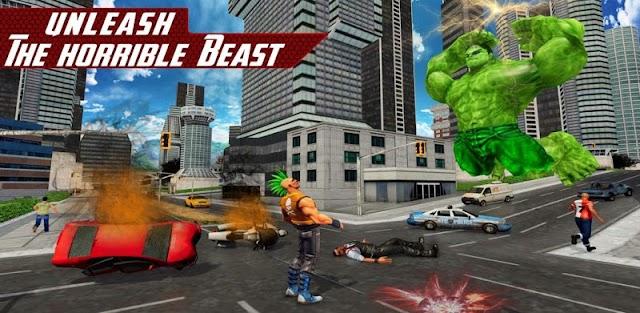Superhero Avenger Infinity War VS Supervillain
