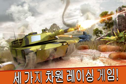 육군 탱크 세계 대전 전투를 . 한국어 전차 싸움 사격