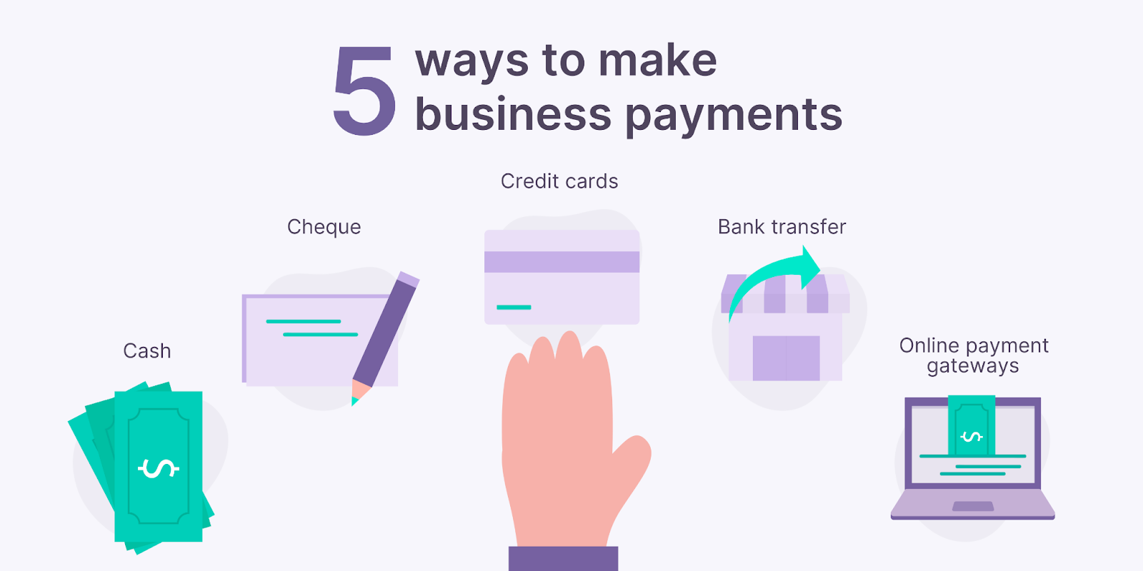 5 ways to make business payments