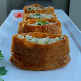 Healthy Inari Sushi.