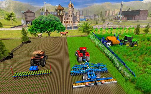Farming Simulator Game 2018 u2013 Real Tractor Drive 1.4 screenshots 5