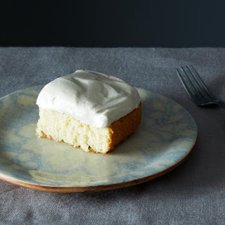 Grandma'S White Cake with Maple Syrup Frosting Recipe