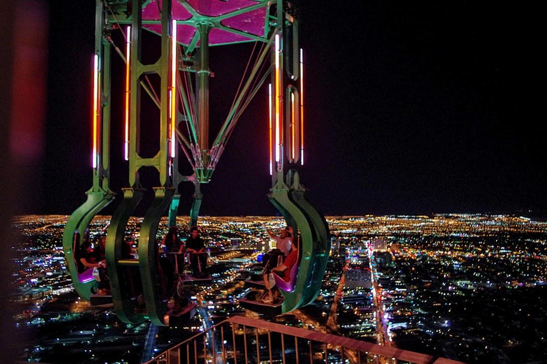 Las Vegas, atracción en el hotel Stratosphere