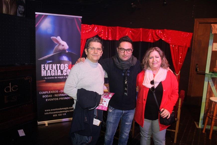Eventos de Magia.com con Pedro Reverte, fotógrafo; y Teresa López.