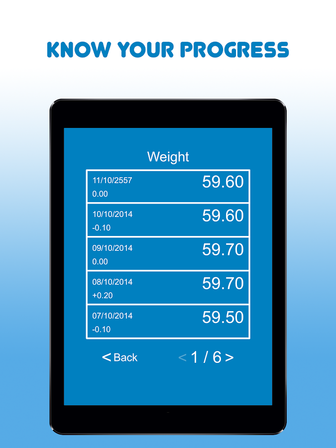 My Body Measurements- screenshot