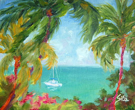 """Photo: """"Sail Away"""" - Keauhou Bay 10"""" x 8"""" (available from artist)"""