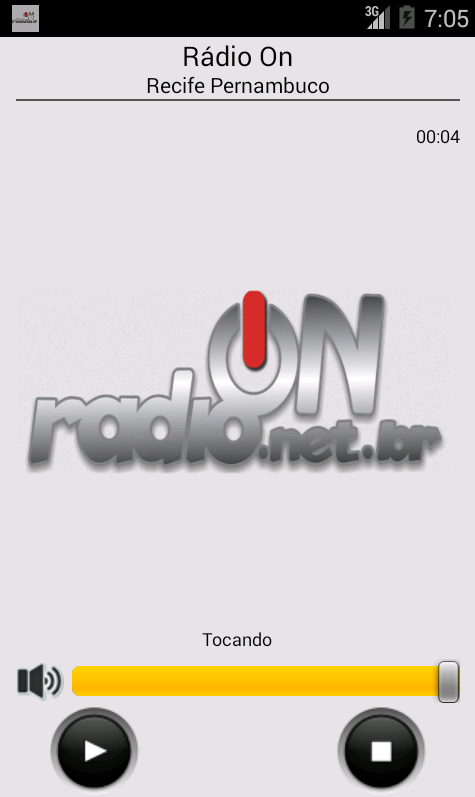 RádioON- screenshot