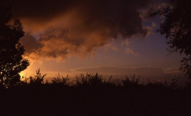 tramonto sui colli di acquilon
