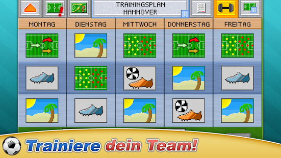 Fussball Pocket Manager - ⚽ Retro Manager 2018 Screenshot