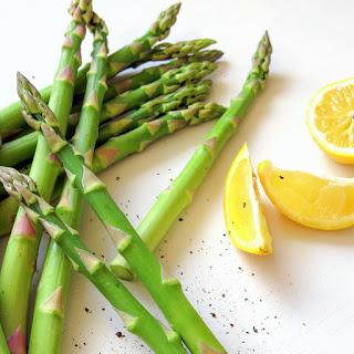 Lemon-Pepper Roasted Asparagus