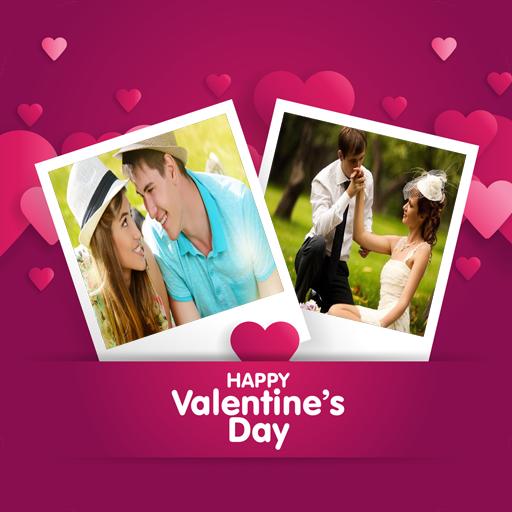 valentine day photo frame HD