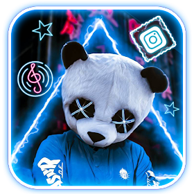 Neon Panda Boy Themes Live Wallpaper Android Apps Appagg