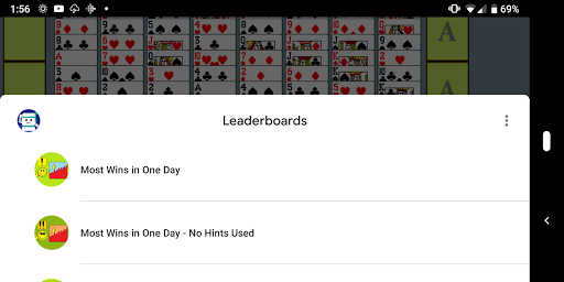 FreeCell with Leaderboards 74.8 screenshots 10