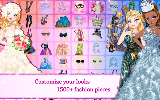 Star Girl - Fashion, Makeup & Dress Up  screenshots 2