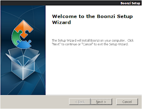 Photo: Installing Boonzi - step 1