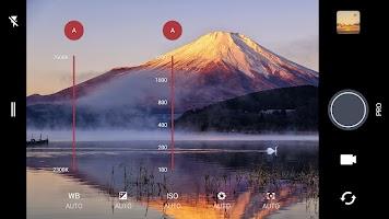 screenshot of HTC Camera