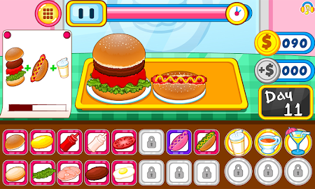 Burger shop fast food 1.0.5 screenshot 2088688