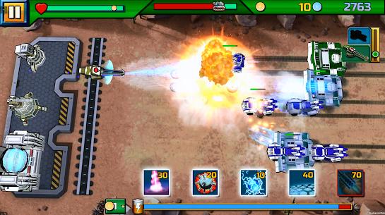Tank ON 2 Jeep Hunter – Arcade Base Defender 4