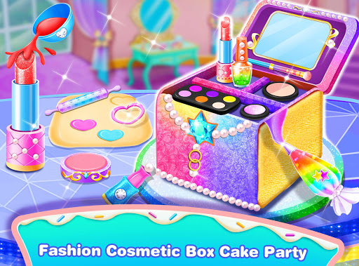Girl Makeup Kit Comfy Cakesu2013Pretty Box Bakery Game 1.1 screenshots 1