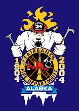 Photo: Fairbanks Fire Department: Centennial logo