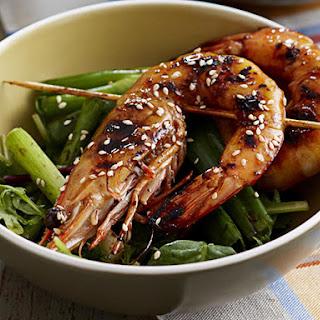 Teriyaki Shrimp.