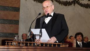 Federico Corriente, arabista y nuevo académico de la Lengua.