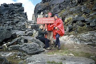 Photo: Cordillera Blanca, przełęcz Punta Unión / Punto Unión pass
