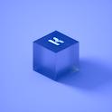Plexiglass for KLWP icon